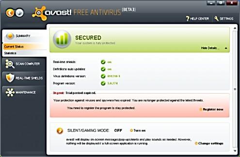 avast free antivirus 2015 код активации