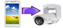 IP-камера через телефон