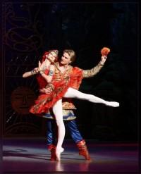 Жар-птица_Софья Гумерова и Илья Кузнецов_первые солисты Мариинского театра