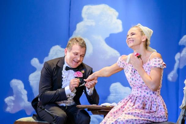 Юрий Горбунов и Лилия Ребрик вышли на театральную сцену Юрий Горбунов,Лилия
