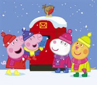 новогоднее представление «Свинка Пеппа»