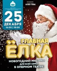 новогоднее шоу для всей семьи «Главная ёлка»