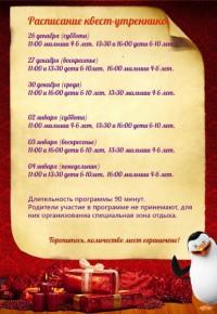 «Новогодние приключения во дворце» для детей от 4  до 6 лет