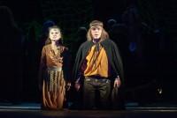 Ольга Кононцева (Джульетта) и Сергей Сычев (Ромео)