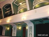 Русский театр Одесса - схема зала и карта проезда