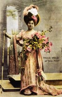 Х.Даркле в роли Тоски (1900г.)