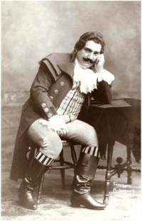 Э.Карузо в роли Каварадосси (1900г.)