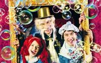 детское шоу «Первый театр мыльных пузырей»